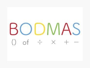 Explain the BODMAS Rule